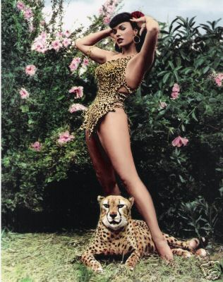 bettie-page-cheetah